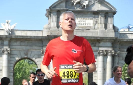 Madrid Marathon…