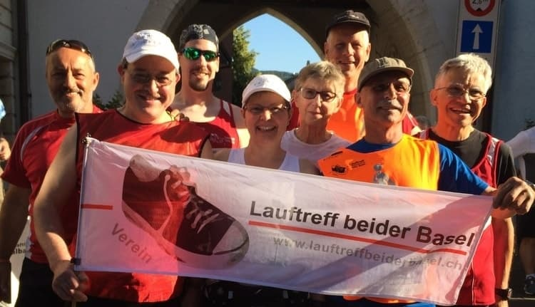 10 miles of Laufen, Guide for Jean-Pierre (visually impaired)