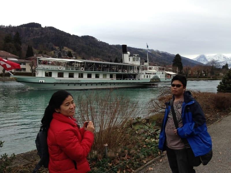 A visit to Thun…